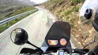 The Alps on my KTM 990 Adventure with Akrapovic Exhausts