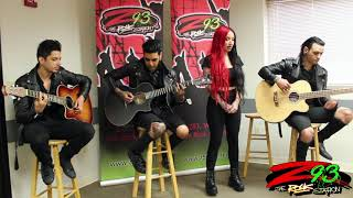 New Years Day Performs 'Shut Up' at the Z93 Studios