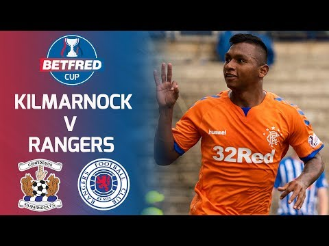 Kilmarnock 1-3 Rangers | Morelos Hits Perfect Hat-trick! | Betfred Cup Round 2