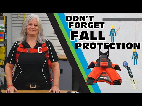 Working At Height? Don't Forget Fall Protection! - Gear Up With Gregg's