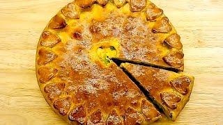 Полезный пирог с куриной грудкой