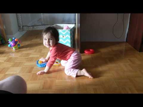 1-year-old Baby Dancing to Sickick Fidget Spinner song