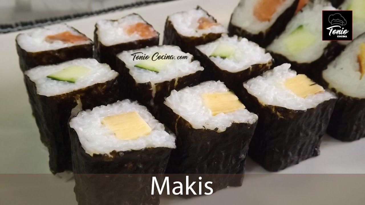 c mo hacer makis curso de sushi 4 youtube On como hacer makis