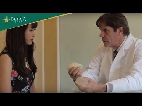 Nâng ngực bằng túi ngực an toàn tại Thẩm mỹ viện Đông Á