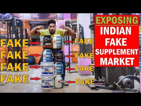 EXPOSE : Indian Fake Supplements   Where to Buy Original Supplement in India ?
