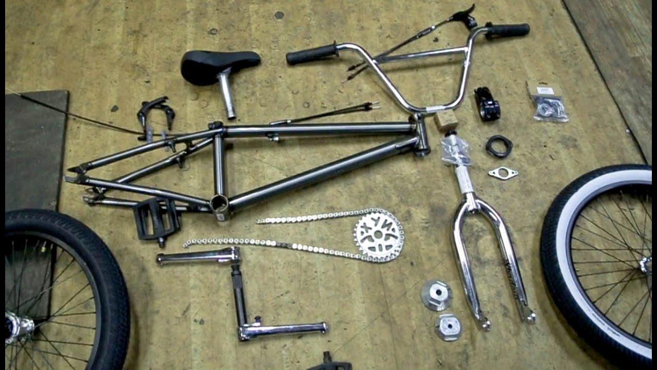 Холодный неон BMX Tron Bike - YouTube