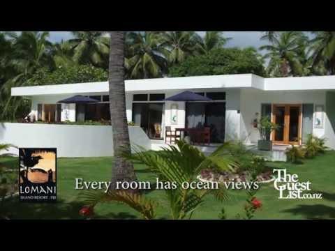 Pacific Honeymoon destination Fiji - Lomani Island Resort