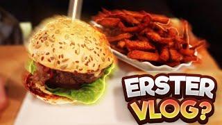 Ich fange an Zu Vlogen?! 💪 | Test Vlog (Burger Essen🔥 | Vlog #03