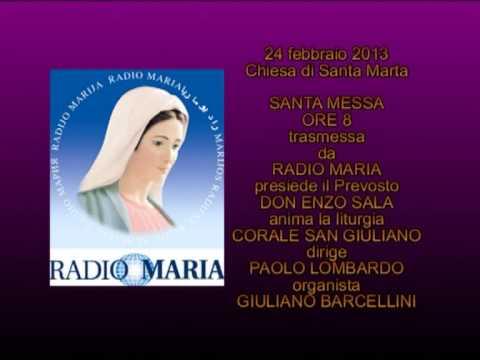 24.02.2013 - Gozzano (NO) - S. Messa trasmessa su Radio Maria da Santa Marta