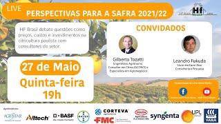 Live HF Brasil - Perspectivas para a safra 2021/22 de citros