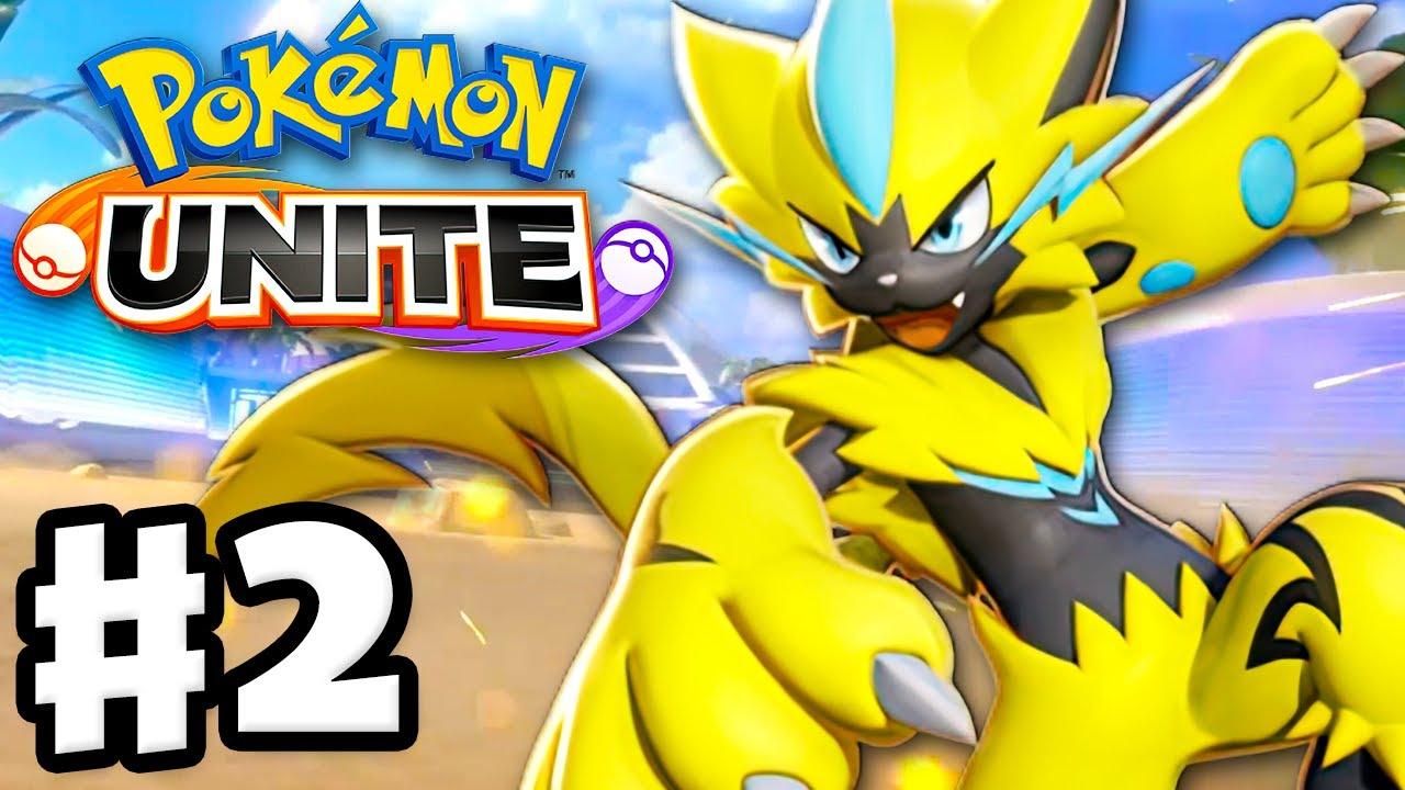 Zeraora Speedster! - Pokemon Unite - Gameplay Walkthrough Part 2 (Nintendo Switch)