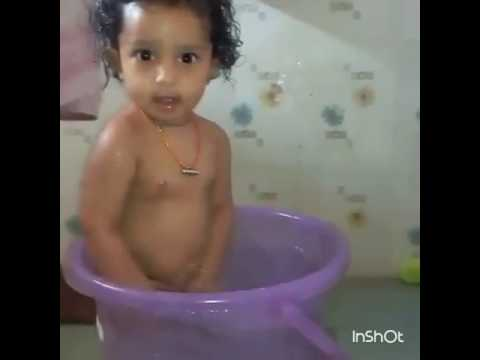 Baby Enjoing in bath