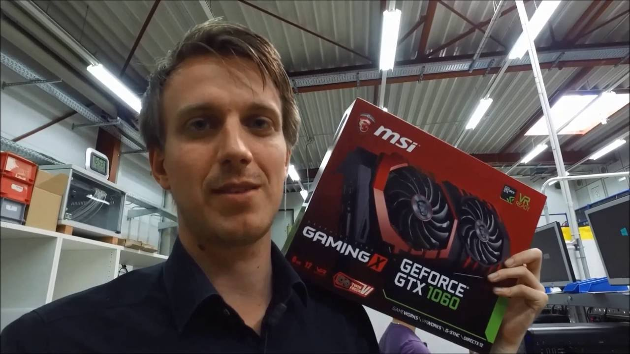 msi carte graphique geforce® gtx 1060 gaming x 6g 6go gddr5 MSI GTX 1060 GAMING X 6G Benchmark & Unboxing   YouTube