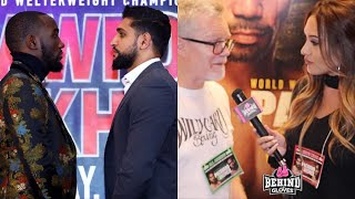 FREDDIE ROACH EXPLAINS WHAT AMIR KHAN NEEDS TO WORK ON; DOESN'T THINK HE WINS VS. TERENCE CRAWFORD