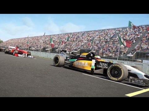 Formula one make a eback in mexico