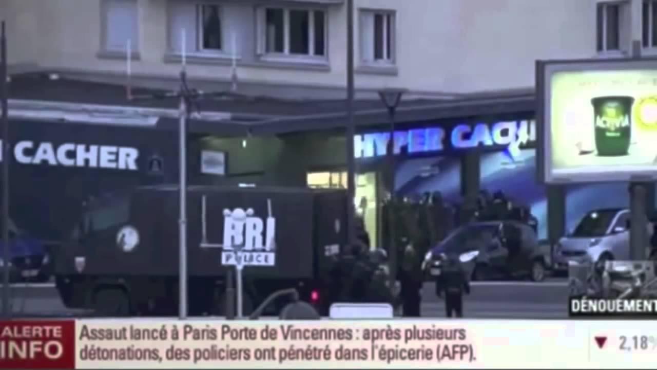 Policia Francia abate a terrorista al salir del supermercado