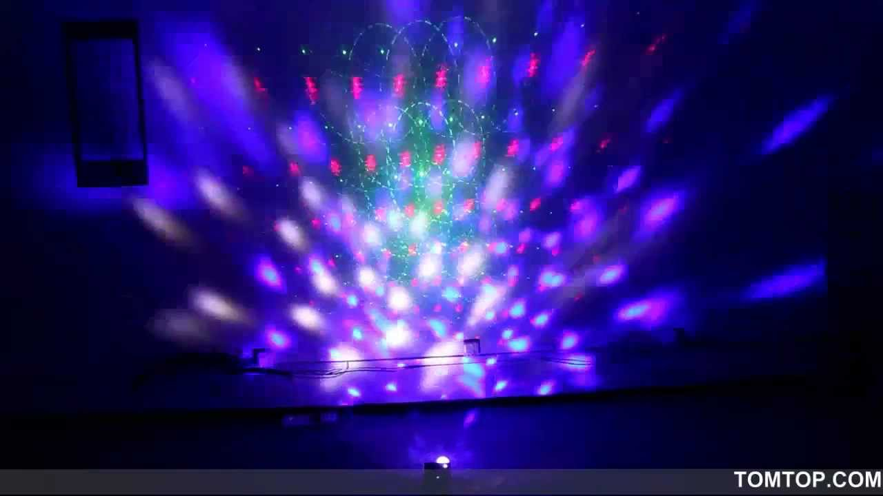 TOMTOP Wholesale 2in1 LED Crystal Ball u0026 Mini Laser Stage Lighting Projector DJ Light w/ Mp3 Player - YouTube & TOMTOP Wholesale 2in1 LED Crystal Ball u0026 Mini Laser Stage Lighting ... azcodes.com