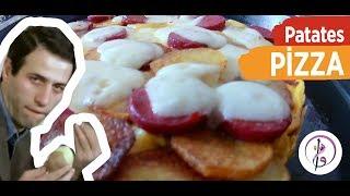 Nefis Yemek Tarifi / 3 dakikada hazır / Patates PİZZA