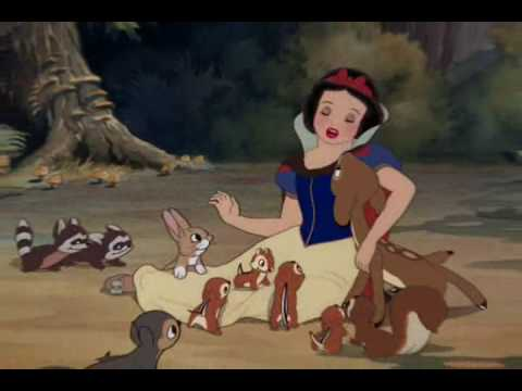 Snow White - With A Smile And A Song - (Latin Spanish 2001)