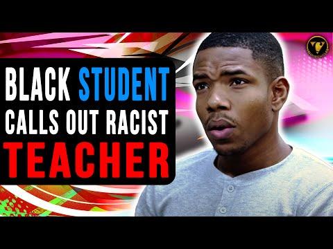 Black Student Calls Out Racist Teacher, Watch What Happens Next.