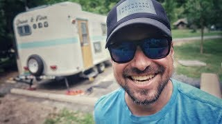 Gulpha Gorge Campground at Hot Springs National Park // RV LIVING FULL TIME