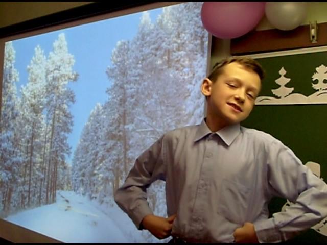 Изображение предпросмотра прочтения – ОлегБабченков читает отрывок изпроизведения «Мороз, Красный нос» Н.А.Некрасова
