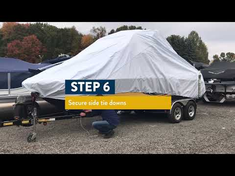 How to Install the Transhield Wake Tower Cover
