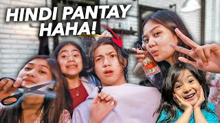 Letting My SIBLINGS CUT My HAIR!! (Hindi Pantay Haha!) | Ranz and niana