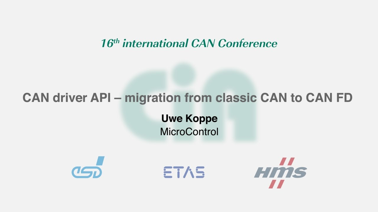 can in automation cia the international can conference icc wiring harness likewise can bus frame on can bus connector wiring [ 1280 x 720 Pixel ]