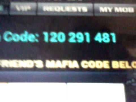 Crime City Mafia Code