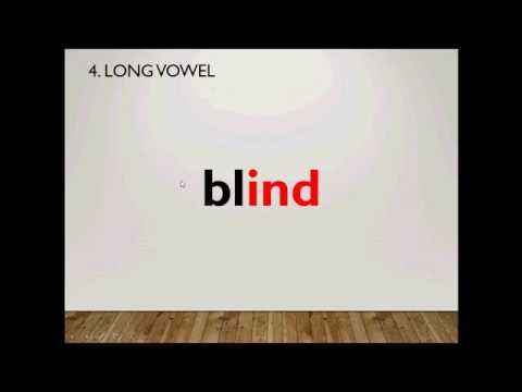Teaching Video - Phonics Zone - Long A, E, I, O Video (all The Rules) (2)