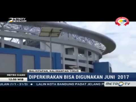 Balikpapan Bangun Stadion Megah Bertaraf International
