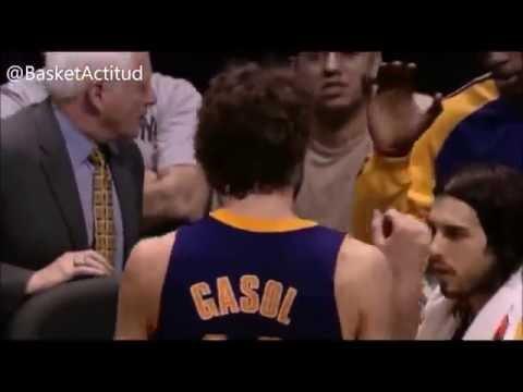 Los mejores momentos de Pau Gasol jugando en los Angeles Lakers | NBA
