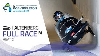 Altenberg | BMW IBSF World Championships 2020 - 2-Man Bobsleigh Heat 2 | IBSF Official