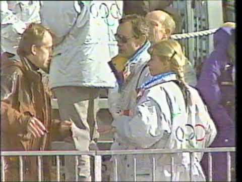 1992 Winter Olympics - Men's Downhill