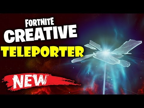 How To Use Teleporters In Fortnite Creative Update 11.10!