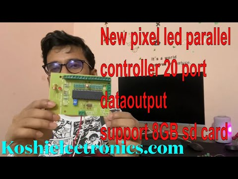 New parallel controller with 20 port data output 2021