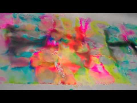 ab0fb92374f391 Dyeing fabric with Sharpies and alcohol filmed at the Houston Quilt Market  2010