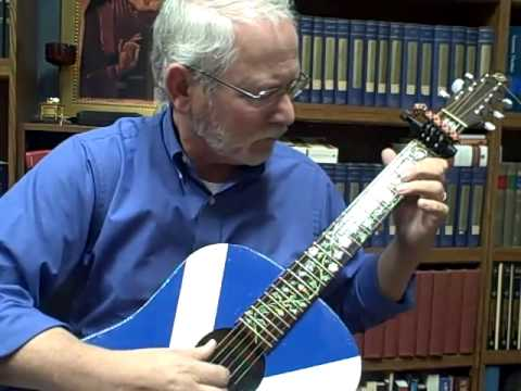 SpiderCapo Demo in Open G Major & G Minor - Celtic