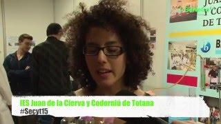 Jardindes químicos en la Semana de la Ciencia y la Tecnología Región de Murcia 2015 - Secyt15