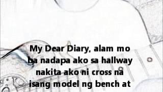Repeat youtube video Dear Diary (Diary ng panget song)