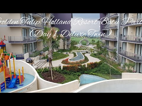 Vlog#125: Golden Tulip Holland Resort Batu Part 1 (Deluxe Twin)