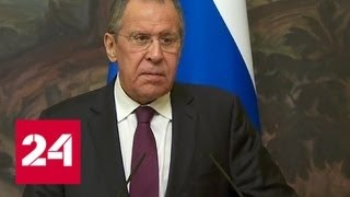 Смотреть видео Лавров: Москва и дальше будет поддерживать Каракас - Россия 24 онлайн