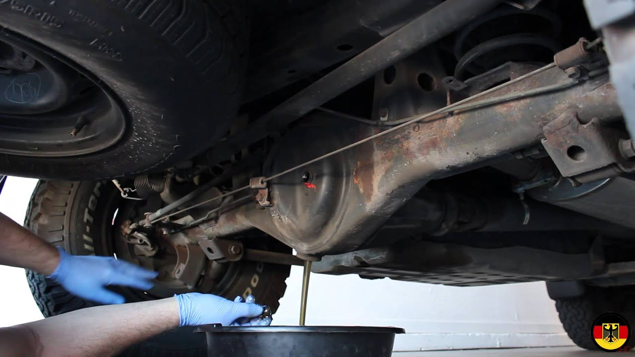 hight resolution of 1996 2002 toyota 4runner 3rd generation rear differential fluid change