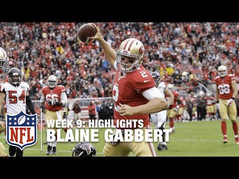 Blaine Gabbert Highlights (Week 9) | Falcons vs. 49ers | NFL