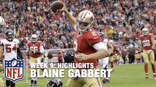 Blaine Gabbert Highlights (Week 9) | Falcons vs. 49ers | NFL