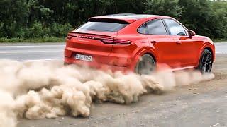 НОВЫЙ 550 л.с. PORSCHE Cayenne Coupe! КАМЧАТКА! Первый тест-драйв в России на краю земли. Turbo.