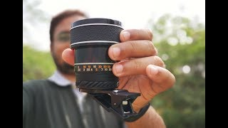 Prosumer SANKYO Macro Phone Lens Indepth Review