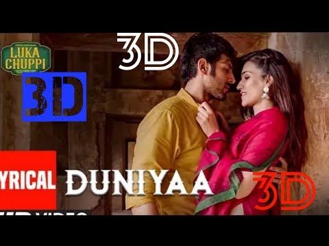 3D Audio / Duniyaa / Luka Chuppi / Surround Sound / Akhil // By 3d Edit Songs