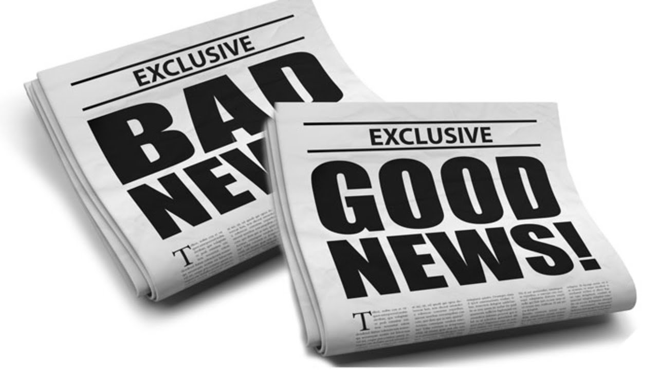 Image result for bad news good news